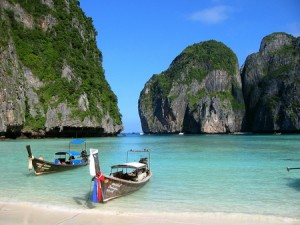 Thailand scenery on Ko Phi Phi
