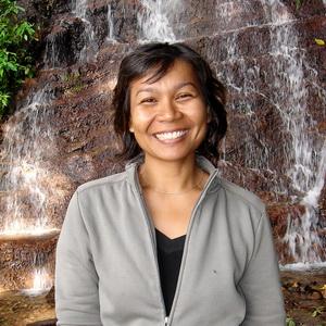 The famous Thai smile