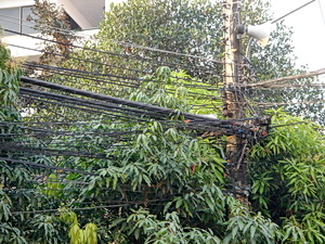 electric wiring in Thailand