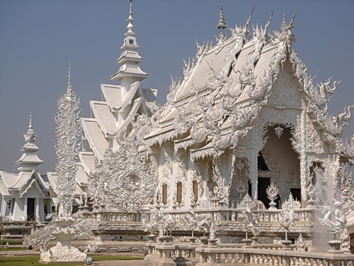 beautiful ornate Thai temple