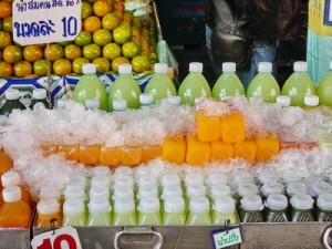 fresh squeezed juice in Thailand