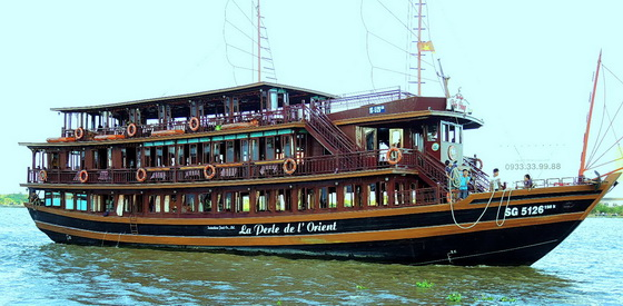 Saigon river cruise